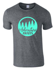 Adventure Awaits T-Shirt - Adventure Shirt - MADE IN THE USA!