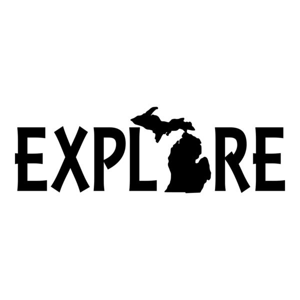 Explore Michigan Vinyl Car Decal