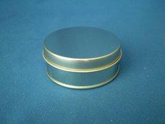 25 gram round tin Silver