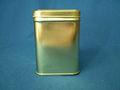 100 gram square tin Gold