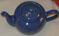 6 cup teapot - Blue