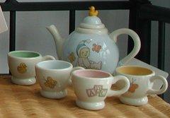 Snowbabies tea set Dept. 56