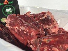 Kangaroo Meaty Tail Bones @ 5kg Esky Pack
