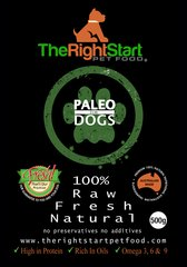Paleo For Dogs 500g @ 8 *IntroPack Small Breeds For Beginners*