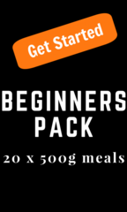 """Beginners Pack"" 20 x 500g Packs (Small)"