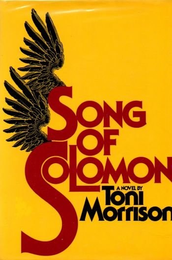 a literary analysis of the song of solomon by toni morrison