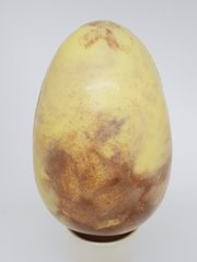 White Marble Easter Egg