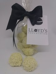 Lemon Flavour White Chocolate Truffles - 120g