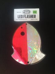 Medium Leo Flasher Pink Frost / Silver