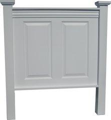 Twin Size 2 Panel Door Headboard
