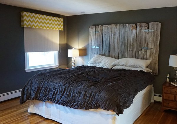 Vintage Barn Wood Headboard With Legs Vintage Headboards