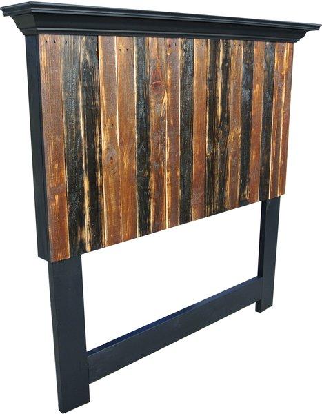 Pallet wood headboards | Vintage Headboards - door ...