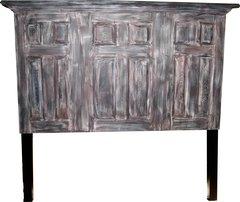 3 Door Twelve Panel Headboard With Legs