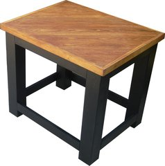 Oak Top End Table