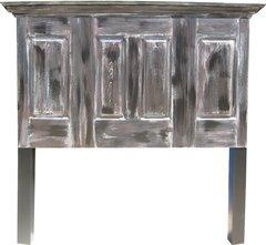 3 Door Four Panel Headboard With Legs