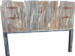 King Size Authentic Barn Wood Headboard