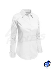 Classic Button Down Blouse - White