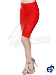 Overlap Pencil Skirt