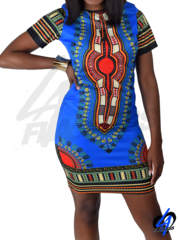 Tribal Midi Dress