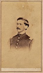 Lieutenant Frank D. Steven, Company I, 12th PRVC, POW, Wounded Fredericksburg