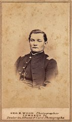 Captain Washington Augustus Mekker, Company F, 6th Regiment PRVC, Wounded At Antietam, Fredericksburg, Wilderness