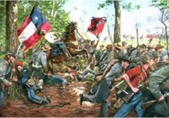 The 5th Texas Second Manassas By Don Troiani