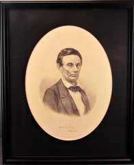 Scarce Child and Bradley Beardless Abraham Lincoln Lithograph
