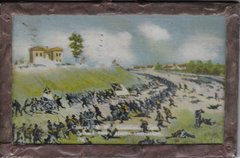 Gettysburg Souvenir Postcard Charge of the Louisiana Tiger's Second Day's Battle