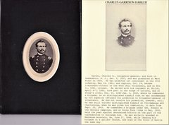 Salt Image of Charles Garrison Harker, US Army 15th Infantry, Field & Staff Ohio 65th Infantry, and US Volunteers