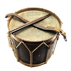 Civil War Presentation Drum