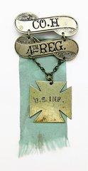 4th U.S. Infantry Ladder Badge