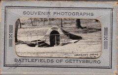 Gettysburg Souvenir Photographs Battlefileds of Gettysburg