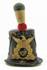 Civil War Shako Hat - Federal Chasseur