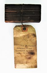 Section of Wood from Andersonville Prison