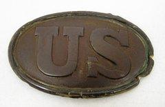 Gettysburg U.S. Cartridge Box Plate