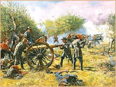 Battery Longstreet - Battle Of Antietam By Don Troiani