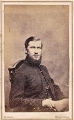 CDV of New York Private Henry Jones, 17th Infantry