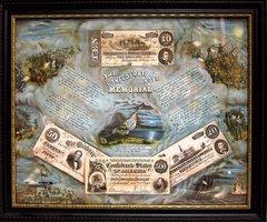 Confederate Currency Memorial