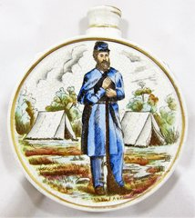 Hand-painted Porcelain Veteran's Canteen