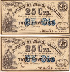 North Carolina Currency - Pair