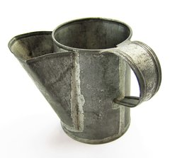 Civil War Tin Shaving Mug