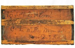 Identified Confederate Officer's Trunk