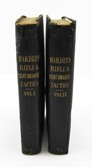 Hardee's Rifle And Light Infantry Tactics Volume 1 & 2, With Inscription A.E. Jones, Ohion Jones' Infantry