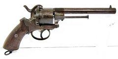 Pin-fire Revolver