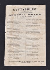 Songs for the Loyal, No. 5 Gettysburg