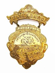 Pittsburgh G.A.R. Medal