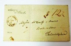 Gettysburg, PA  Postmarked, 1832 Envelope