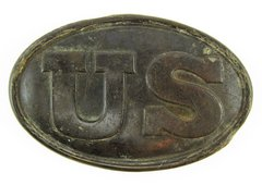 U.S. Cartridge Box Plate