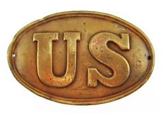 Gettysburg Cartridge Box Plate