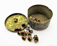Brass Percussion Cap Tin